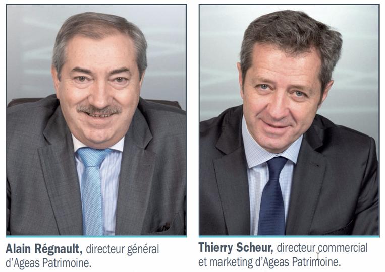 Rencontre avec Alain Régnault, directeur général, et Thierry Scheur, directeur commercial et marketing.