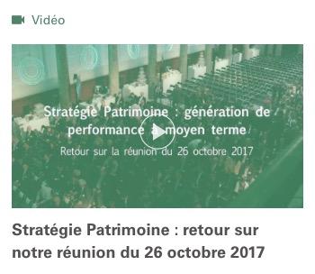 Stratégie Patrimoine : génération de performance à moyen terme