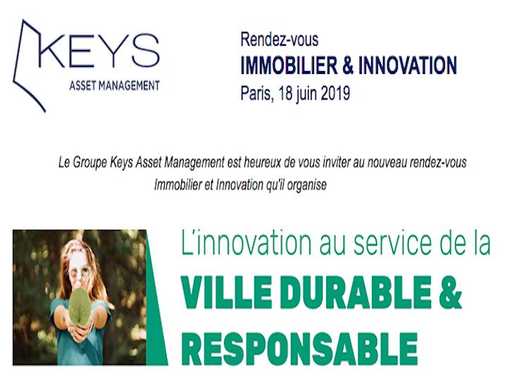 Rendez vous IMMOBILIER & INNOVATION le 18 juin à Paris