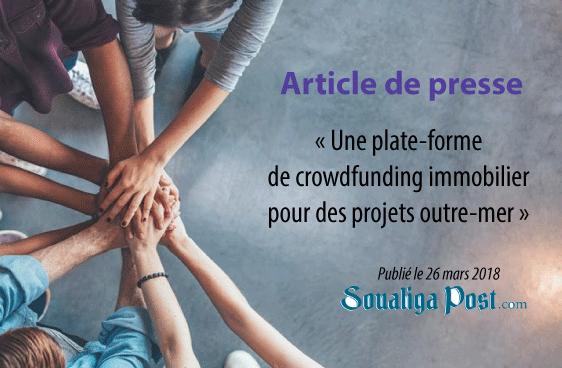 Une plate-forme de crowdfunding immobilier pour des projets outre-mer