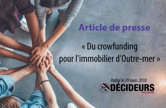 Du crowfunding pour l'immobilier d'Outre-mer