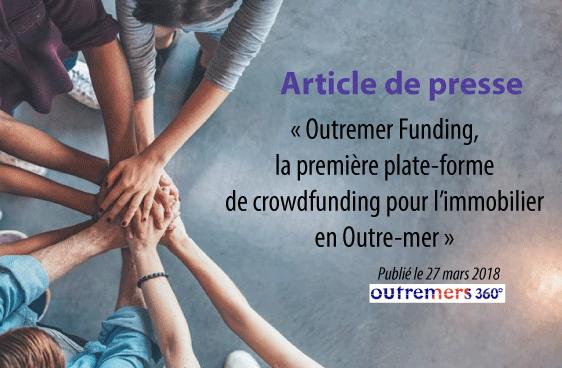 Outremer Funding, la première plate-forme de crowdfunding pour l'immobilier en Outre-mer
