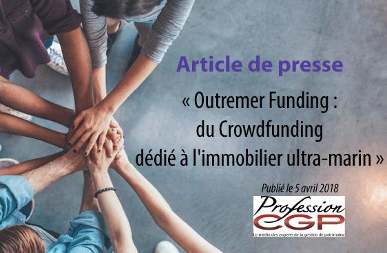 Outremer Funding : du Crowdfunding dédié à l'immobilier ultra-marin