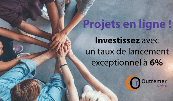 Les projets sont en ligne sur www.outremerfunding.fr