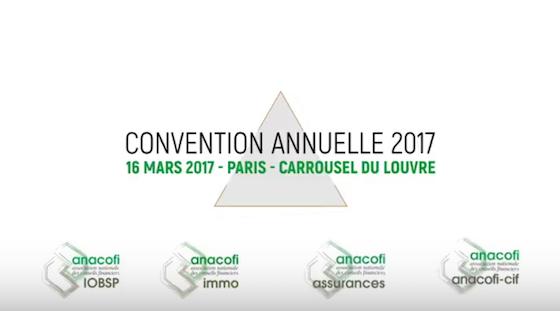 ANACOFI Convention Annuelle 2017 - Carrousel du Louvre - Paris