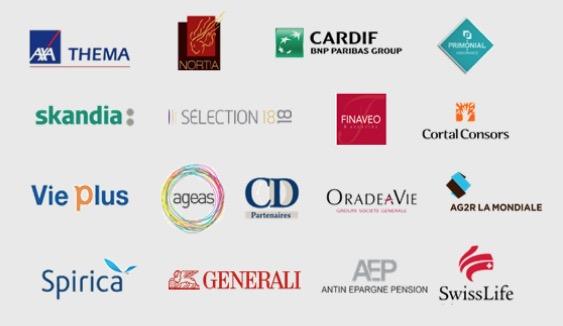 Nos partenaires plateformes bancaires et assurance-vie