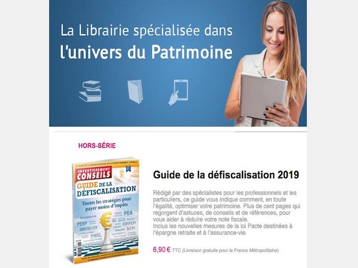 Nouveau hors-série : Guide de la Défiscalisation 2019