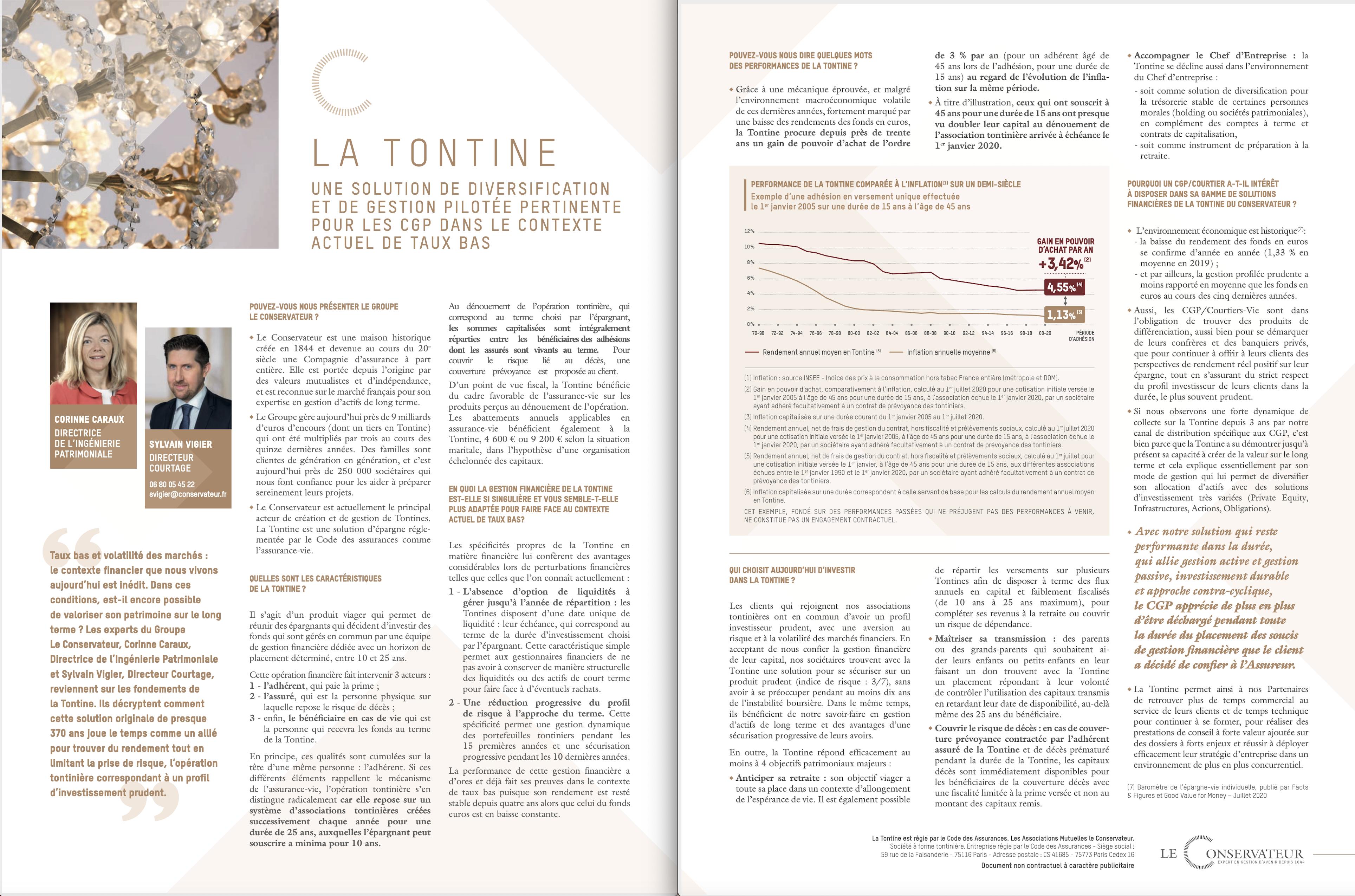 La Tontine une solution de diversification et de gestion pilotée pertinente pour les CGP