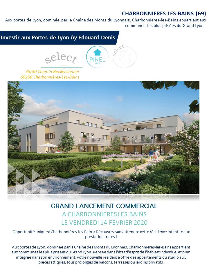 Grand Lancement Commercial à Charbonnières les Bains
