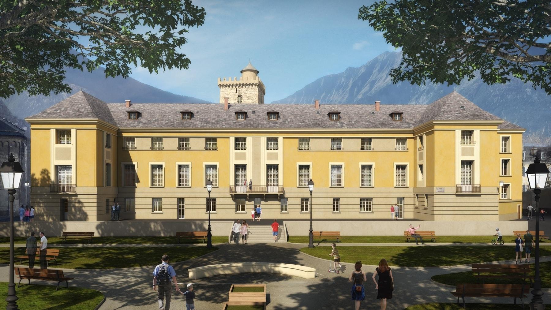 Ancien Palais Archiépiscopal | Embrun (05)