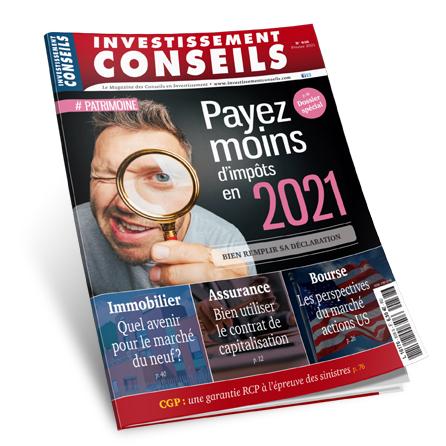 PAYEZ MOINS D'IMPÔTS EN 2021
