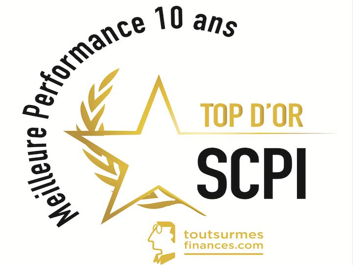 Le Jury de TOP SCPI récompense LOGIPIERRE 3 pour ses performances