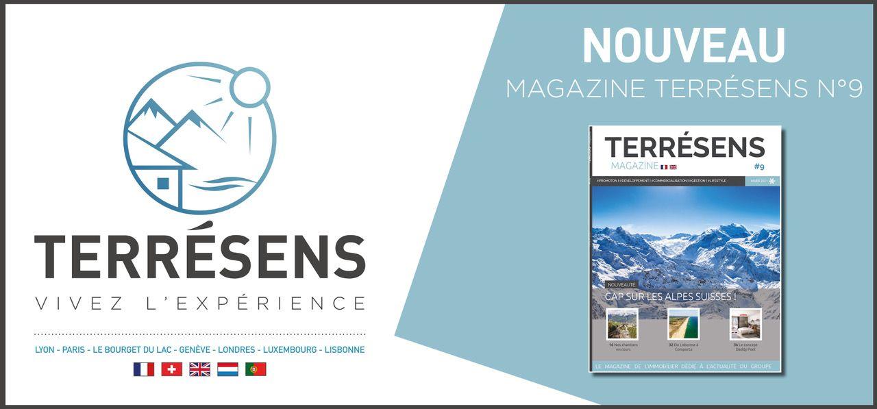 Le magazine Terrésens #9 est disponible.