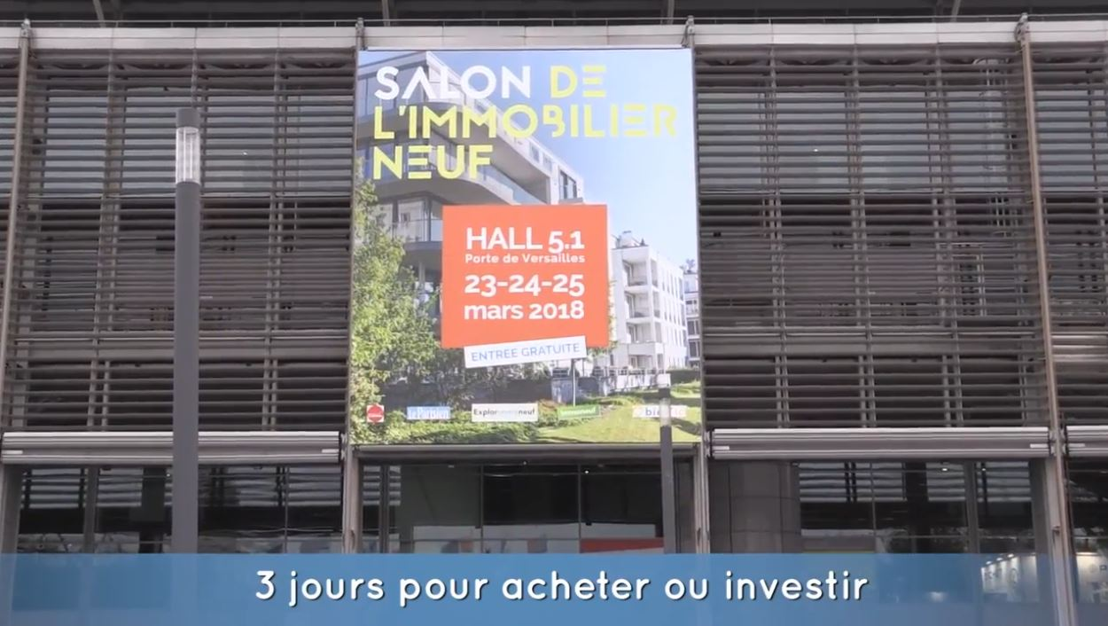Le Salon National de l'Immobilier Neuf