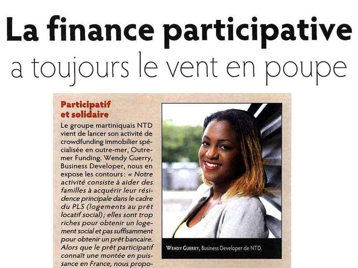 La finance participative a le vent en poupe